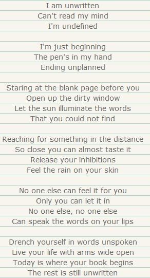 unwritten11